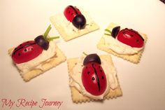how to make cheese bugs - Google Search