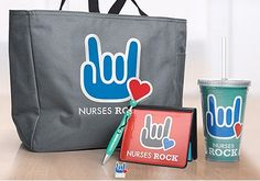 Nurses Rock appreciation gifts. Don't wait for National Nurses Week to say thank you!