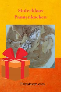Sinterklaas pannenkoeken. Deze pannenkoeken hebben we na het bakken belegd met een laagje banketbakkersroom, verkruimelde kruidnootjes en poedersuiker! Food, Essen, Meals, Yemek, Eten