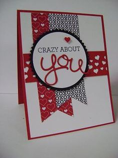 Crazy About You stamp set from the Occasions Catalog