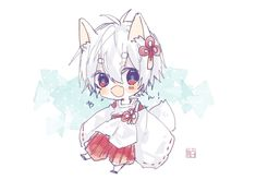 I love this anime so much Neko Boy, Chibi Boy, Kawaii Chibi, Cute Chibi, Kawaii Anime, Anime Guys, Manga Anime, Anime Art, Dibujos Anime Chibi