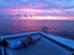 Watching the sunset in #Tobago #Trinidad #caribbean