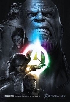 Thanos and Black Order; the Infinity Poster