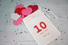10 Things I Love About You Valentine Idea