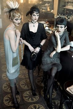 vogue 20s inspired editorial