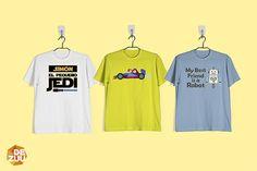 Camisetas originales en Dezuu. Ultimando los detalles para la vuelta al cole