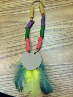 Thanksgiving Indian necklace