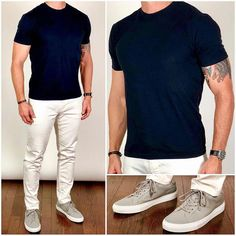 30 Ideas For Moda Casual Masculina Verano Outfits Casual, Mode Outfits, Stylish Men, Men Casual, Casual Styles, Casual Shoes For Men, Smart Casual, Sneakers Outfit Men, Sneakers Sale