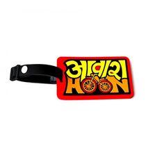 Awara Hoon Luggage Tag