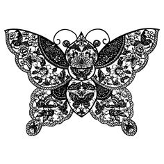Paper Cutting | Square Flower Pattern Chinese Stamps Complex Asian Paper Cut Butterfly