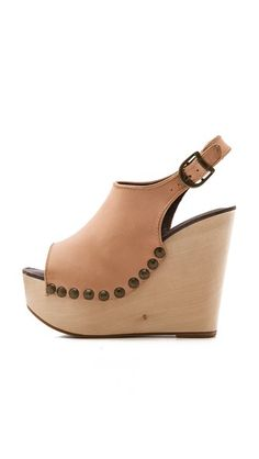 Jeffrey Campbell Snick Wedge Sandals #sandals #wedge #shoes