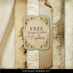 Far Far Hill: Freebies Vintage Paper