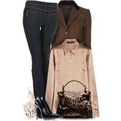 """Pumps and Jeans"" by yasminasdream on Polyvore"