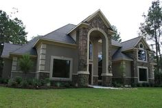 13 best stucco and stone exterior images backyard landscape design rh pinterest com