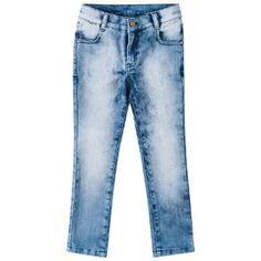 Calça jeans infantil menina - Milon