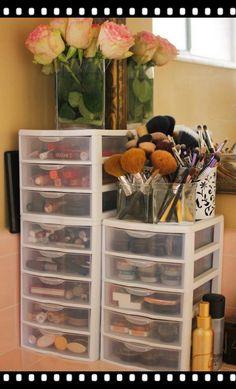 Makeup Storage Drawers Large Acrylic