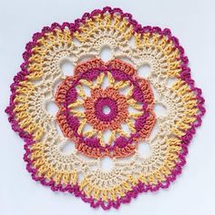 If you had told me in my that I'd be crocheting doilies for fun, I would have laughed and laughed. Crochet Doilies, Crochet Earrings, Projects To Try, Photo And Video, Knitting, Instagram Posts, Fun, Color, Crochet Ideas
