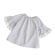 38d9e1c0628a Baby Girl Dress - Vintage Fashion Stripes