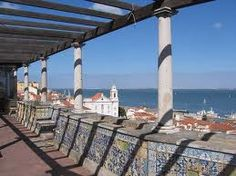 My Lisbon : an alternative city guide - Postcards from anywhere Lisbon Tours, Lisbon Guide, Santa Lucia, Visit Lisboa, Walking Tour, Terrazzo, Nice View, Budapest, Travel Inspiration