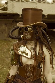 Steampunk Tendencies | TrollSmas  #Steampunk