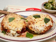 Veal Parm at Parm, NYC