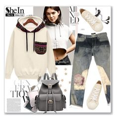 """""""Shein"""" by j-sharon ❤ liked on Polyvore featuring Calvin Klein, Wet Seal, Isabel Marant, Play Comme des Garçons and Forever 21"""