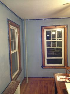 Dining room after paint