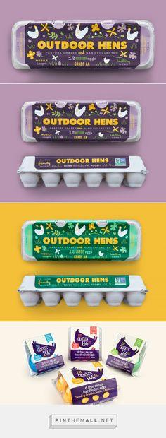 St.John Family Egg Carton — The Dieline - Branding & Packaging Design - created via https://pinthemall.net