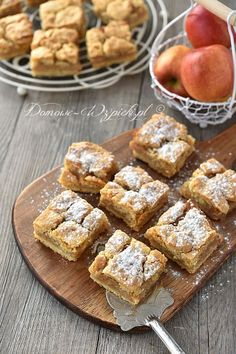 Prosta szarlotka Apple Pie Recipes, Cake Cookies, Food Photography, Bakery, Dessert Recipes, Food And Drink, Yummy Food, Healthy Food, Sweets