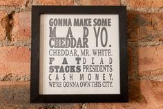 Breaking Bad Jesse Pinkman Quote  by walltowallprintshop on Etsy