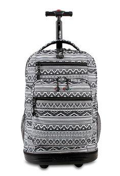 New color of Sundance Rolling Backpack: Tribal http://jworldstore.com/shop/campus/new/sundance-rolling-backpack-tribal.html