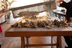 Steamed Oysters - another wonderful tradition  For more information, go to jmccharleston.com! Follow us! https://www.facebook.com/pages/JMC-Charleston/112233958873614  http://instagram.com/jmccharleston #jmccharleston #itsalwaysaparty #CharlestonDMC #destinationmanagement
