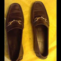 Authentic Gucci Shoes Leather
