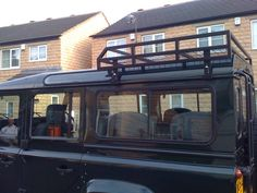 Good for the 90. And a bolt on extension.  http://www.ebay.com/itm/Custom-half-roof-rack-to-fit-Land-Rover-Defender-90-110-130-with-mesh-base-/271564088140?pt=LH_DefaultDomain_3&hash=item3f3a7b234c&vxp=mt    Another co: http://www.brownchurch.co.uk/products/roof-racks/