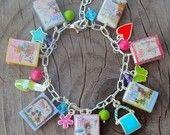 Junie B. Jones book-charm bracelet - sooo cute!