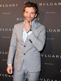 Joining in the fun at Paris Fashion Week, Bradley Cooper gets all dressed up for a Bulgari bash at the City of Light's posh Hôtel Potocki. http://www.people.com/people/gallery/0,,20714118,00.html