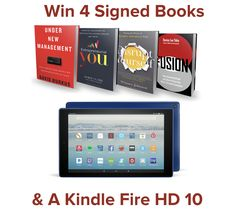 Win 4 Signed Books & A Kindle Fire HD 10 ($300 Value)