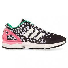 Adidas Originals ZX flujo multicolor Dot zapatillas moda inspo
