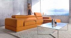 Mmmmmm. But in the burnt orange. We both love this. marc modular lounge