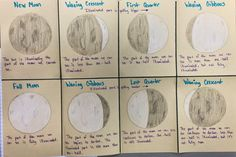 The 4th Grade May-niacs: The Phases of the Moon