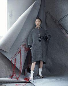 koreanmodel:  Hwang Gi Ppeum by Hyea W. Kang for Vogue Korea Aug 2015