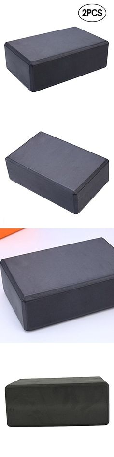 WINOMO 2pcs Yoga Blocks EVA Foam Brick Lightweight Exercise Block for Pilates Workout