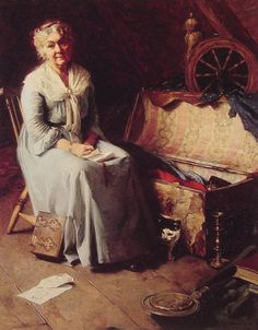 Attic Memories by Norman Rockwell (1925)