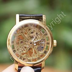 Mechanical Watch Men's wristwatches Steampunk by pyramidboutique, $24.99