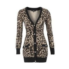 O M F G. So Gorgeous and elegant. The beautiful cardigan design softens out the print, very cute!