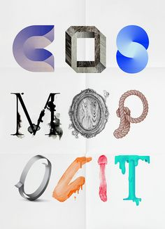 Creative Poster, Typography, and Cosmopolit image ideas & inspiration on Designspiration Creative Posters, Cool Posters, Sans Serif, Poster On, Poster Prints, Typography Letters, Cool Fonts, Lettering Design, Graphic Design Illustration