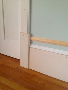 DIY thick baseboards
