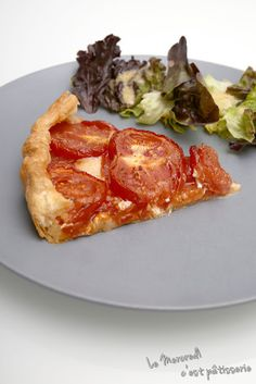 Tarte à la tomate et à la moutarde Blog, Tomato Pie, Mustard, Wednesday, Cheer Snacks, Envy, Recipes, Blogging
