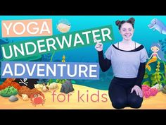 Want to get your kids doing yoga? This 5 minute 'Underwater Adventure' yoga routine is super fun for the little ones! Childrens Yoga, Yoga Routine, How To Do Yoga, Underwater, Little Ones, Channel, Exercise, Adventure, Fun