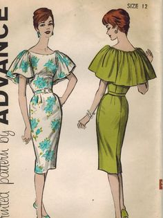 1960s Advance 9359 Vintage Sewing Pattern Misses by midvalecottage, $16.00
